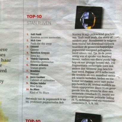 Trouw – Jaaroverzicht top 10